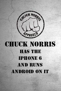 I love Chuck Norris jokes...