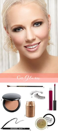 Ring in the New Year with this glam look. A great how to from Mar of  teamhairandmakeupservice.com can be found right here: http://www.stylemepretty.com/2012/12/31/nye-makeup-looks-from-team-hair-and-makeup/?preview=true_id=173386_nonce=1939d1a711  Photography By / hennadiyk.com #dental #poker