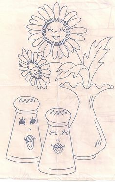 kitchen flowers 007 by chez60, via Flickr