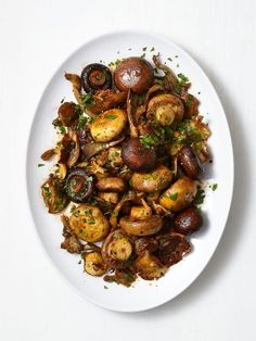 Smoky Roasted Mushrooms