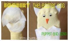 Eggbert the Easter Egg Puppet and Song