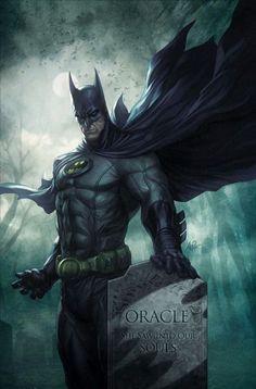 Bat Man by Imaginary Friends Studios -Stanley Lau