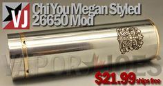 Vapor Joes - Daily Vaping Deals: USA DEAL: THE CHIYOU MEGAN MECHANICAL - $21.99 FRE...