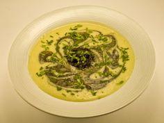 Creamy Huitlacoche Soup