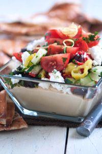 Garden Greek Hummus Dip
