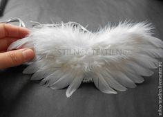 Крылья ангела из перьев мастер класс