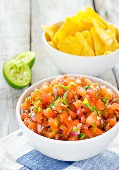 Fresh Hot Homemade Salsa