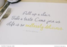 Yellow paper placemat | Design: m.studio, Photographer: Picturemeandu | http://www.theprettyblog.com/style-and-home/life-is-so-endlessly-delicious/