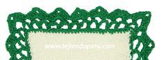 Borde o cenefa para tejer a crochet # 8