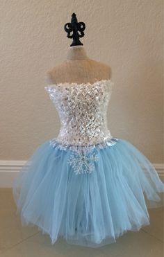 Frozen Costume Elsa Costume Frozen Dress Elsa by partiesandfun, $21.00