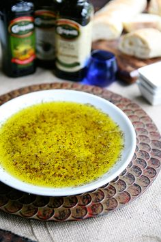 Garlic and Herb Olive Oil Bread Dip