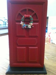 'Magical Red Door Memory Holder' is going up for auction at  7pm Fri, Sep 6 with a starting bid of $10.