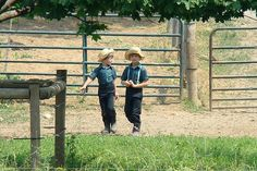 Amish Children by Photographic Poetry, via Flickr