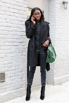 New York Fashion Week Fall 2013 Models