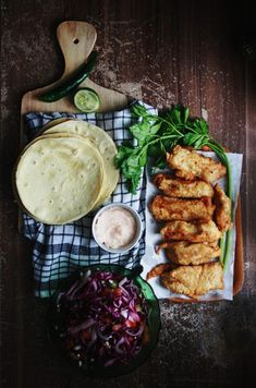 // Fish Tacos #foodporn