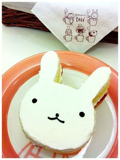 Rabbit Cake - looks like #miffy!