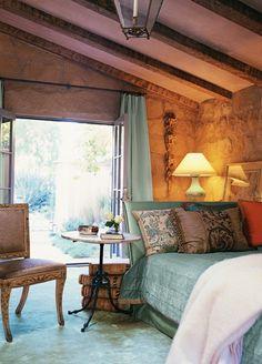 Beautiful Bedroom by John Saladino
