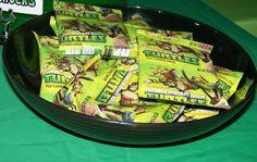Teenage Mutant Ninja Turtles Birthday Party Ideas   Photo 12 of 39   Catch My Party ninja turtle party ideas, birthday parties, party ninja turtles, ninja turtle birthday party, parti favor, fruit snack, turtles birthday party ideas, turtl birthday, ninja turtle birthday ideas