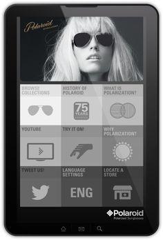 Polaroid app design concept