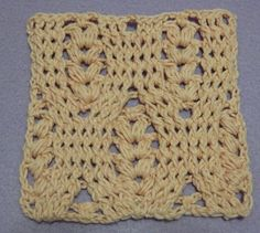 Free Crochet Photo Tutorial : Bobble st, FPDC and BPDC combination
