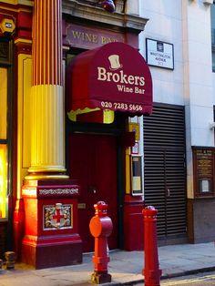 Brokers Wine Bar, Londres