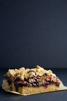 chocolate chip peanut butter jam bars