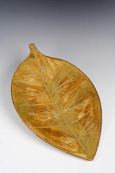 Amy Elswick - leaf platter