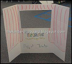 puppet theater - easy to store!