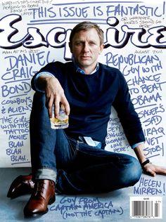 esquire magazine | Daniel Craig