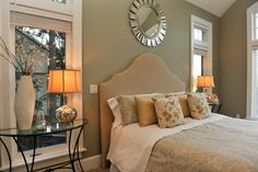 Master Bedroom staged by Synergy Staging - contemporary - bedroom - portland - Synergy Staging