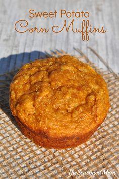 Sweet Potato Corn Muffins 2