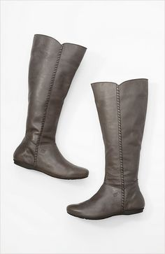 Born® for Pure Jill tall whipstitched boots