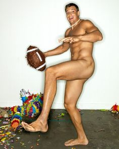 Rob Gonkowski, Tight End, New England Patriots, by Peggy Sirota for ESPN Magazine
