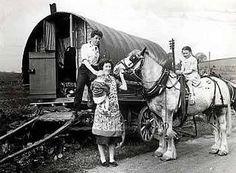 Irish travellers ... ca. early 1950's gypsys