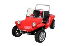 Red Dune Buggy Golf Cart