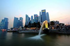Merlion Park is a popular landmark and major tourist attraction of Singapore, located at One Fullerton, Singapore near the Central Business District (CBD) area of Singapore. Nearest MRT: Raffles Place