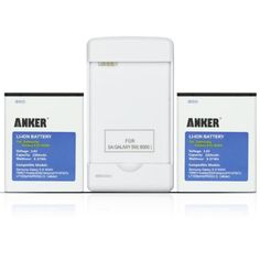 Save $10.00 on Anker 2 x 2200mAh Li-ion Batteries for Galaxy SIII GT-I9300,Samsung Galaxy S3 T999( T-mobile )/I747(ATT)/I535...; only $19.99 + Free Shipping