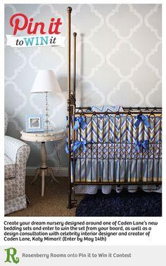 love this combination:  caden lane bedding and bratt decor's venetian.