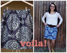 great skirt DIY!