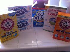 Money in my Pocket: Homemade Laundry Detergent