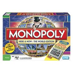 Monopoly i think its cool but its like REALLY.  Long for a board game