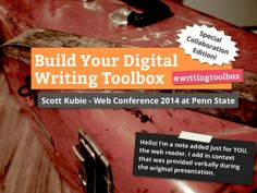 Need some help showing your work? Here's a great slide deck with tips for digital writing.