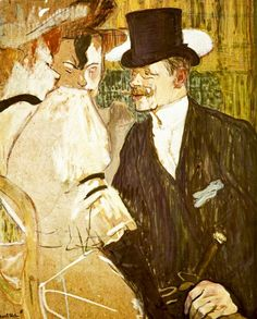 Anglais at Moulin Rouge by Toulouse-Lautrec awesome-art.biz