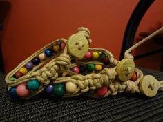 Bracelete com semente de açai - YouTube ♡ Teresa Restegui http://www.pinterest.com/teretegui/ ♡