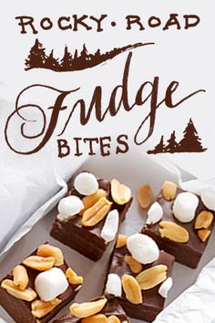The only way to fudge this recipe is not to make it. Try Rocky Road Fudge Bites for dessert tonight.