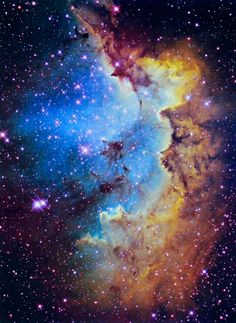 wizard's nebula Ive always been facinated with the stars and planets!!
