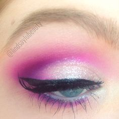 Neon and glitter Urban Decay Electric Palette - lindsaylubeauty
