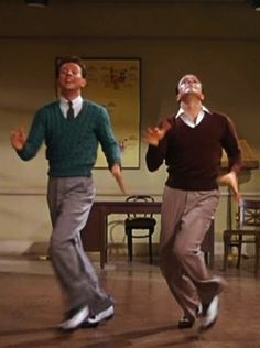 Donald O'Connor and Gene Kelly in Singin' In The Rain