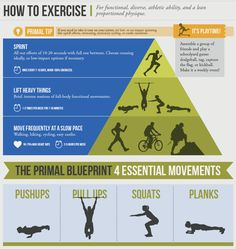 Exercising according to the three Primal Blueprint laws will optimize gene expression and promote Primal Fitness.