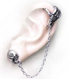 Mortal Remains Earring by Alchemy Gothic